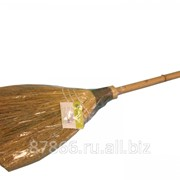 Веник с бамбук.ручкой , арт. 50508-M фото