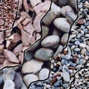Гравий, щебень, песок фото