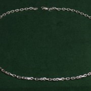 Браслет серебряный Якорное плетение фото