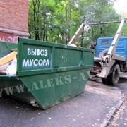 Аренда мусорных контейнеров, вывоз мусора фото
