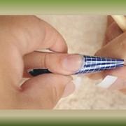 Наращивание ногтей под лак фото
