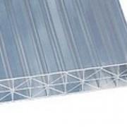 """Сотовый поликарбонат Sunlite XL прозрачный """"Premium"""" 6000х2100 мм, 16 мм усиленный с двухсторонней защитой от УФ фото"""