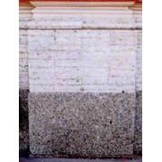 Брус цокольный толщиной 100 мм скоба 100-150 мм фото