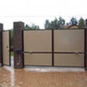 Ворота автоматические распашные фото