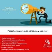 Разработка Интернет Магазина! фото