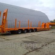 Низкорамный Трал 4-осный 53 тн , пневматическая подвеска SAF фото
