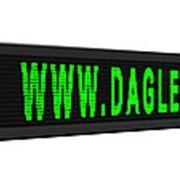 Бегущая строка LED 2 х 0 4 м зеленый фото