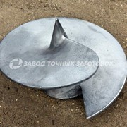 Литые наконечники для винтовых свай 350/159 фото
