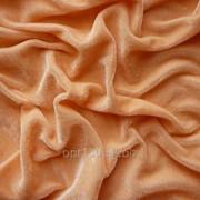 Велюр стрейч цвет персик В 16