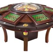 Игровая рулетка пневматическая 6-ти местная Одрекс Мистерион(Odrex Mysterion) для игровых залов и казино фото