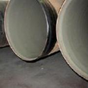 Трубы стальные с внутренним цементно-песчаным покрытием фото