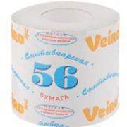 Туалетная бумага Veiro Сыктывкарская 56 однослойная 40 м фото