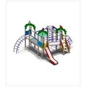 Детский игровой комплекс ДИК H г.=1,5м (от 7 до 12 лет) нерж. (5611) фото