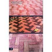 Тротуарная плитка Под камень фото