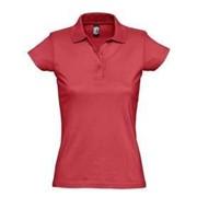 Рубашка поло женская Prescott women 170 красная, размер XXL фото