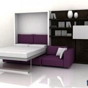 Шкаф-кровать-диван фото
