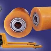 Колесо полиуретановое КР 82.70 в сборе с подшипником фото
