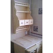 Кухни. Мебель из натурального дерева. фото