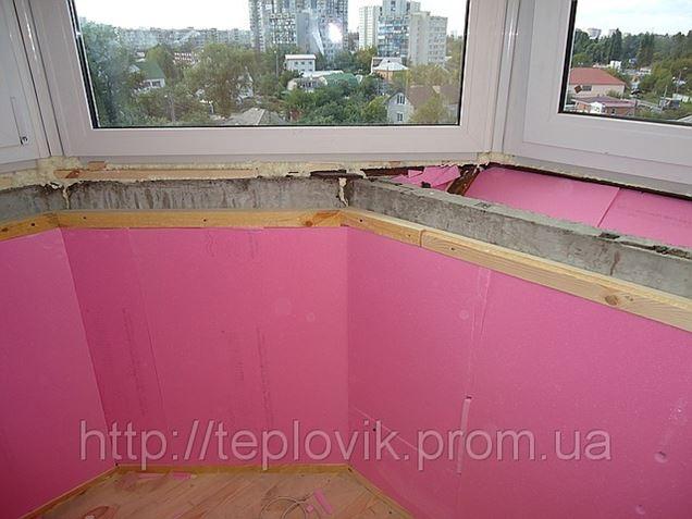 Утеплить балкон, лоджию. цена на утепление ск комфорт (киев).