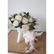 Свадебные букеты из стабилизированных цветов фото