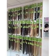 Натуральные волосы на трессе 55 см фото