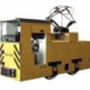 Электровоз контактный рудничный ЗКРА-600 фото