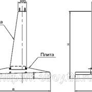 Cоставной фундамент Ф2*2,3-А фото