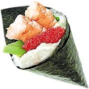 Доставка суши: Темаки фото