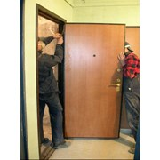 установка, монтаж дверей  фото