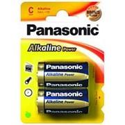 Батарейка Panasonic Alkaline Power LR14, 2шт. /12/60/ фото