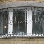 Решетки на окна кованные фото