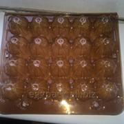 Лотки на 20 перепелиных яиц коричневая от 1 короба фото