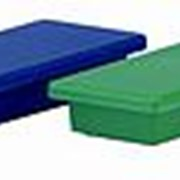 Магнит Durable 4760, прямоугольный, 57,5 x 22,5 x 8,5 мм, голубой фото