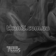 Ткань Кристалин органза (черный) 5580 фото