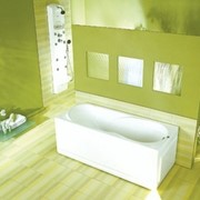 Прямоугольная ванна c гидромассажем PoolSpa MUZA 170 X 75 сис-ма SILVER 1 фото