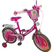 Велосипед детский 2-колесный - ПРИНЦЕССЫ DISNEY (диаметр колеса 14 дюймов) фото