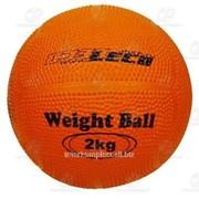 Мяч для атлетических упражнений (Вейтбол) 2 кг фото
