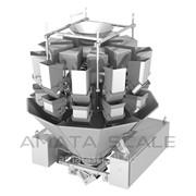 Комбинационный (мультиголовочный) дозатор для липких продуктов (мясо, сухофрукты, мармелад) АМАТА-210-SR фото