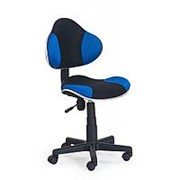 Кресло компьютерное Halmar FLASH (черно-синий) фото