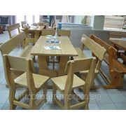 Виготовлення стільців та столів з натурального дерева
