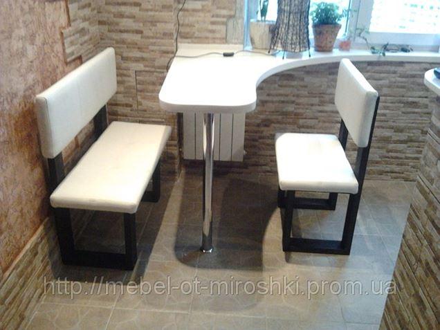 Скамья для кухни с