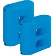 Емкость (бак, резервуар) для воды пластиковая Combi W-1100 BW (сине-белая) Aquatech плоские фото