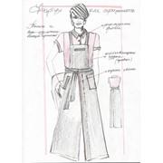 Пошив форменнои и фирменной одежды для ресторанов, баров, казино, гостиниц фото