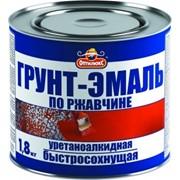 ГРУНТ-ЭМАЛЬ ОПТИМАКС чёрная 1,8кг фото