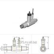 Кран шаровой с воздушником стальной в оцинкованной трубе-оболочке d=426 мм, s=7 мм, L=2800 мм фото