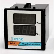Электронный цифровой вольтметр TENSE два значения щитовой 72x72 фото