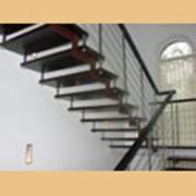 Лестницы консольные фото