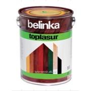 Декоративная краска-лазур Belinka Toplasur 5 л. №23 Махагон Артикул 51473 фото