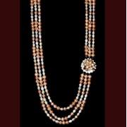 Изделия из жемчуга: бусы, браслеты, серьги, фото