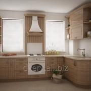Современная кухня из массива дерева фото